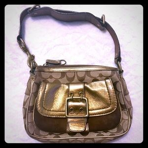 COACH Special Edition Beige & Brown Signature